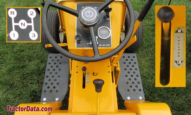 Cub Cadet 122 creeper transmission photo