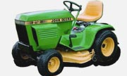John Deere 212 lawn tractor photo