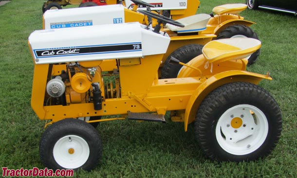 Cub Cadet 73, left view