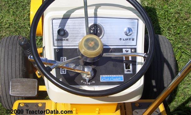 TractorData com Cub Cadet 127 tractor transmission information
