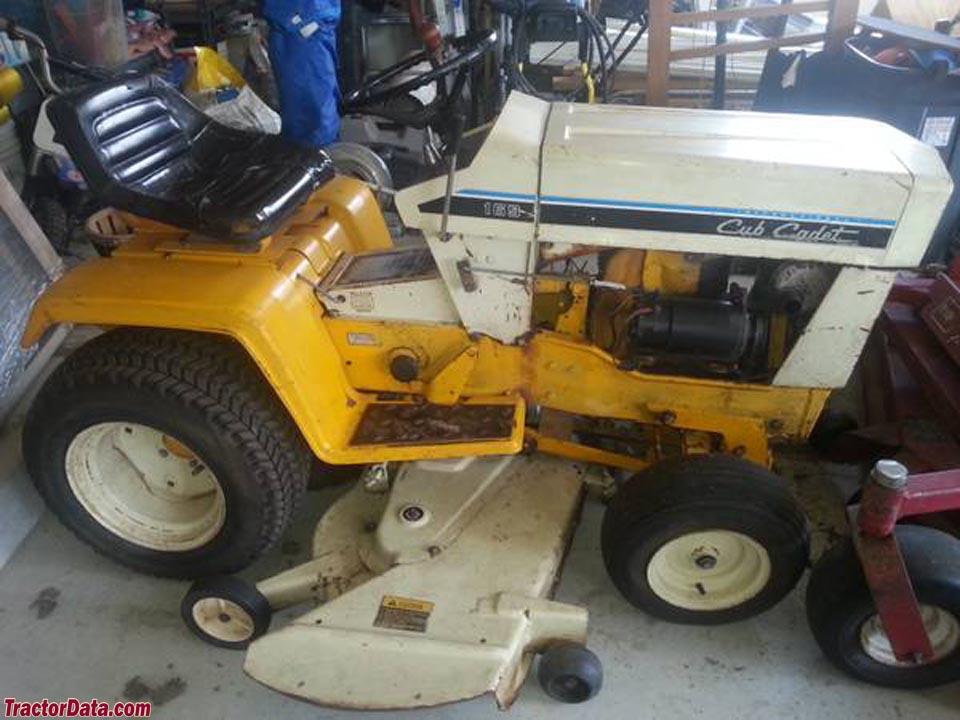 Cub Cadet 169 Garden Tractor : Tractordata cub cadet tractor photos information