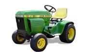 John Deere 216 lawn tractor photo