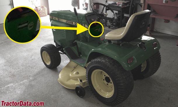 tractordata com john deere 216 tractor information photo of 216 serial number