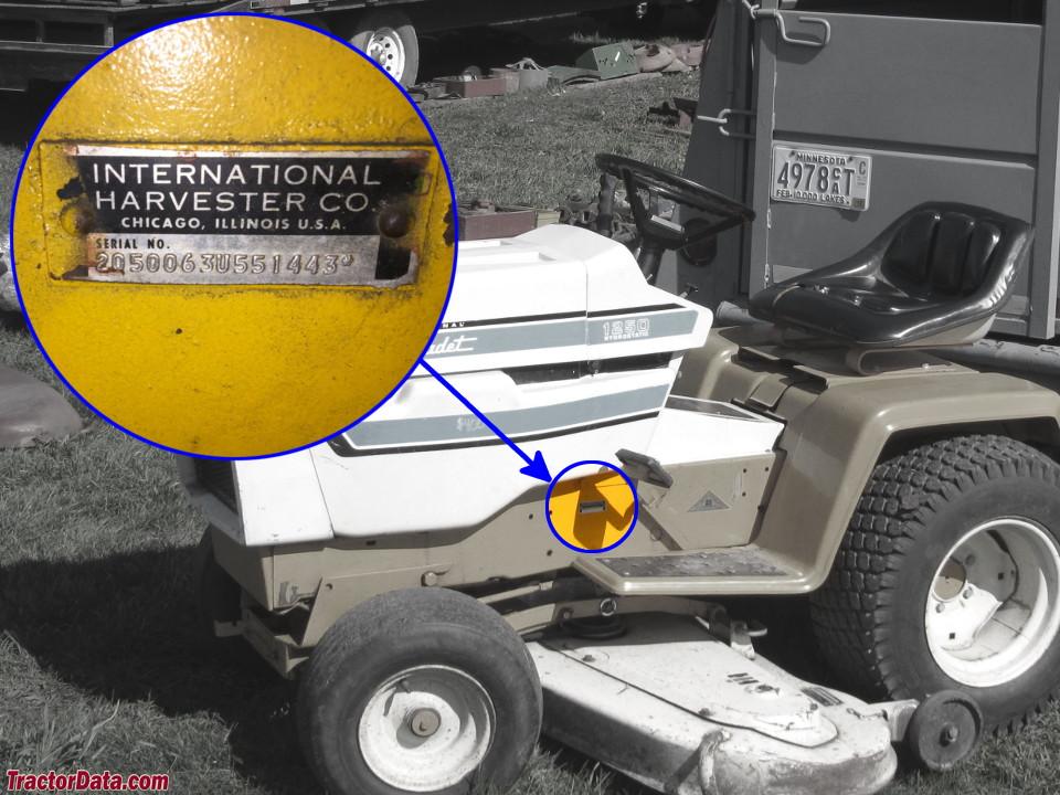 TractorData com Cub Cadet 1250 tractor information