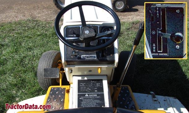 TractorData com Cub Cadet 1250 tractor transmission information