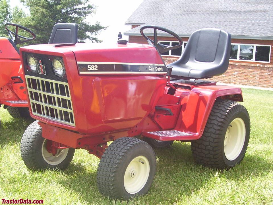 Tractordata Com Cub Cadet 582 Tractor Photos Information