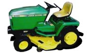 John Deere 240 lawn tractor photo