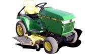 John Deere 245 lawn tractor photo