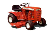 Wheel Horse A-100 lawn tractor photo