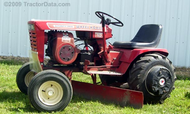 Wheel Horse Tractor Attachments : Tractordata wheel horse charger tractor photos