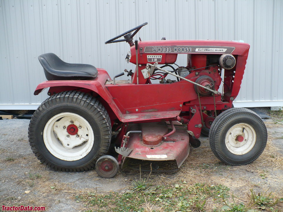 12 Wheel Tractor : Tractordata wheel horse charger tractor photos