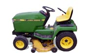 John Deere 265 lawn tractor photo