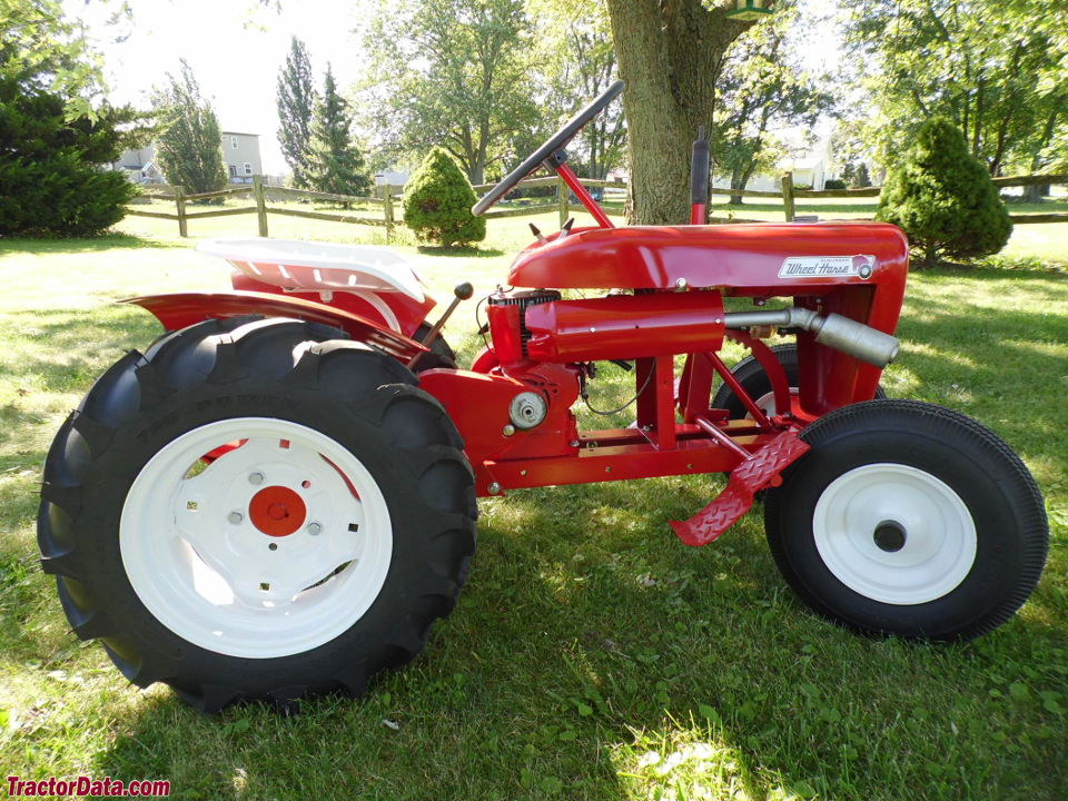 Wheel Horse Tractor Engines : Tractordata wheel horse suburban tractor photos