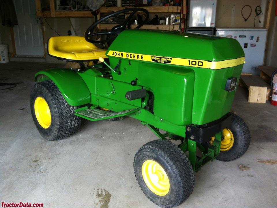 John Deere 100 Garden Tractor Attachments : Tractordata john deere tractor photos information