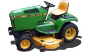 John Deere 285 lawn tractor photo