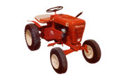 Wheel Horse 653 lawn tractor photo