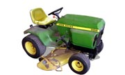 John Deere 300 lawn tractor photo