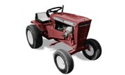 Wheel Horse 1076 lawn tractor photo
