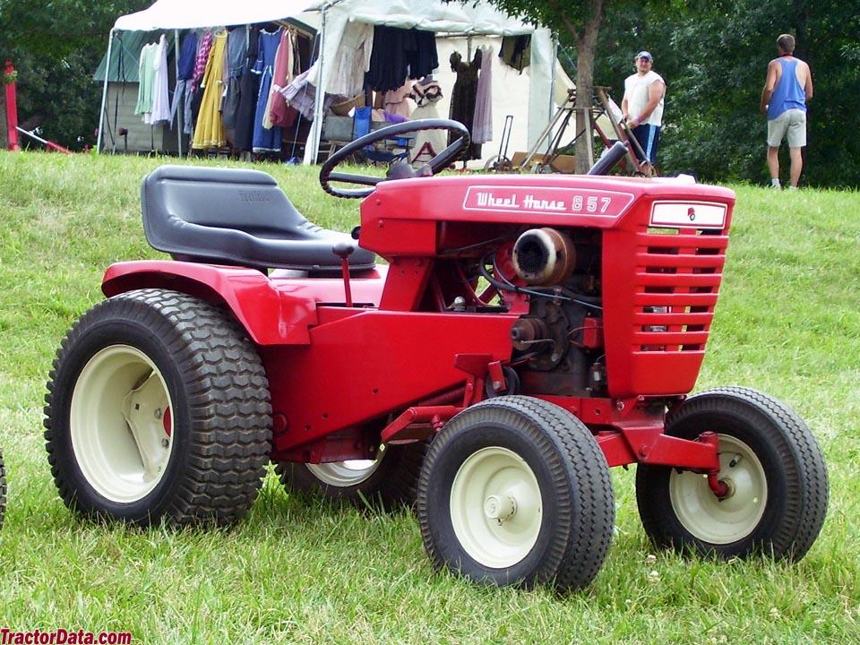 TractorData com Wheel Horse 857 tractor photos information