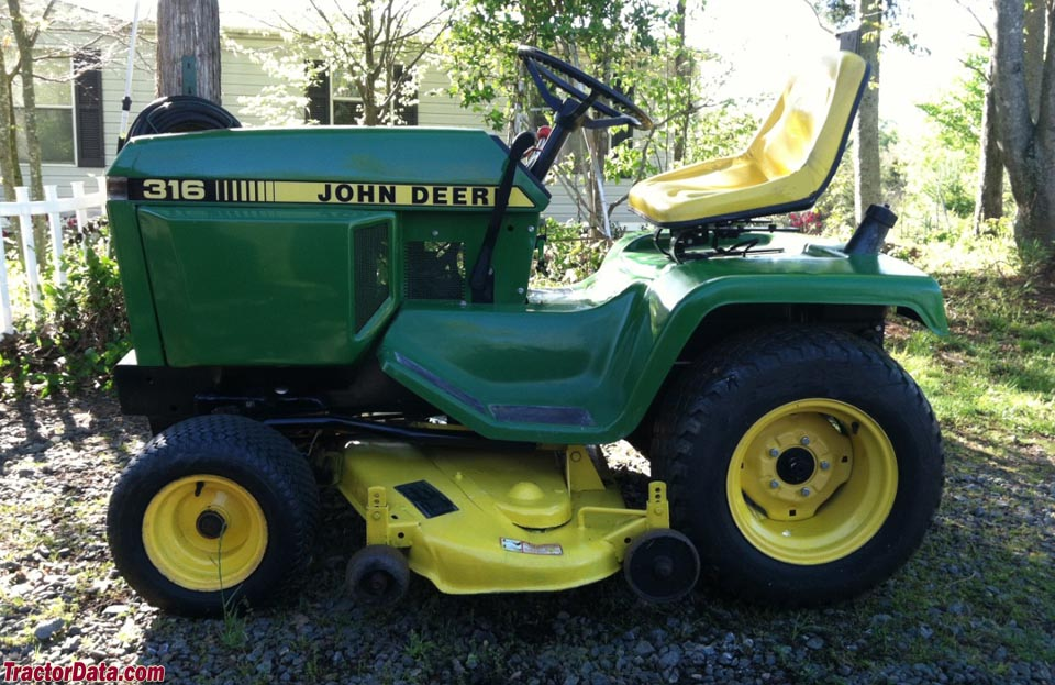 John Deere 316, left side.