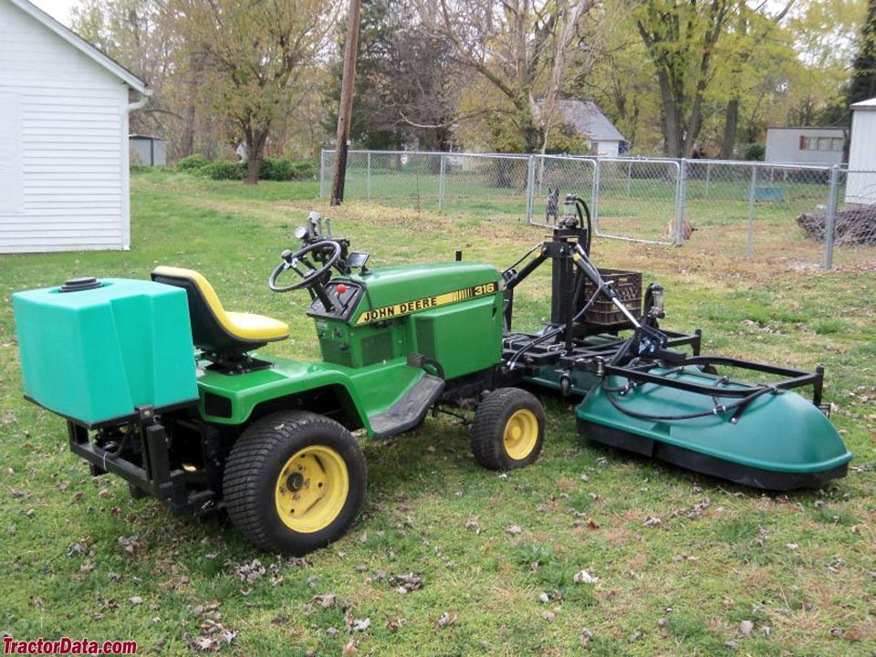 Cute john deere lawn and garden tractor attachments for Lawn and garden implements