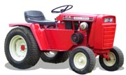 Wheel Horse GT-14 lawn tractor photo