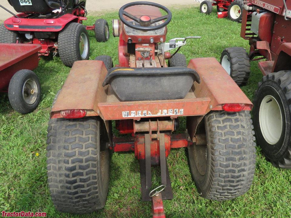 Wheel Horse Gt14 : Tractordata wheel horse gt tractor photos information