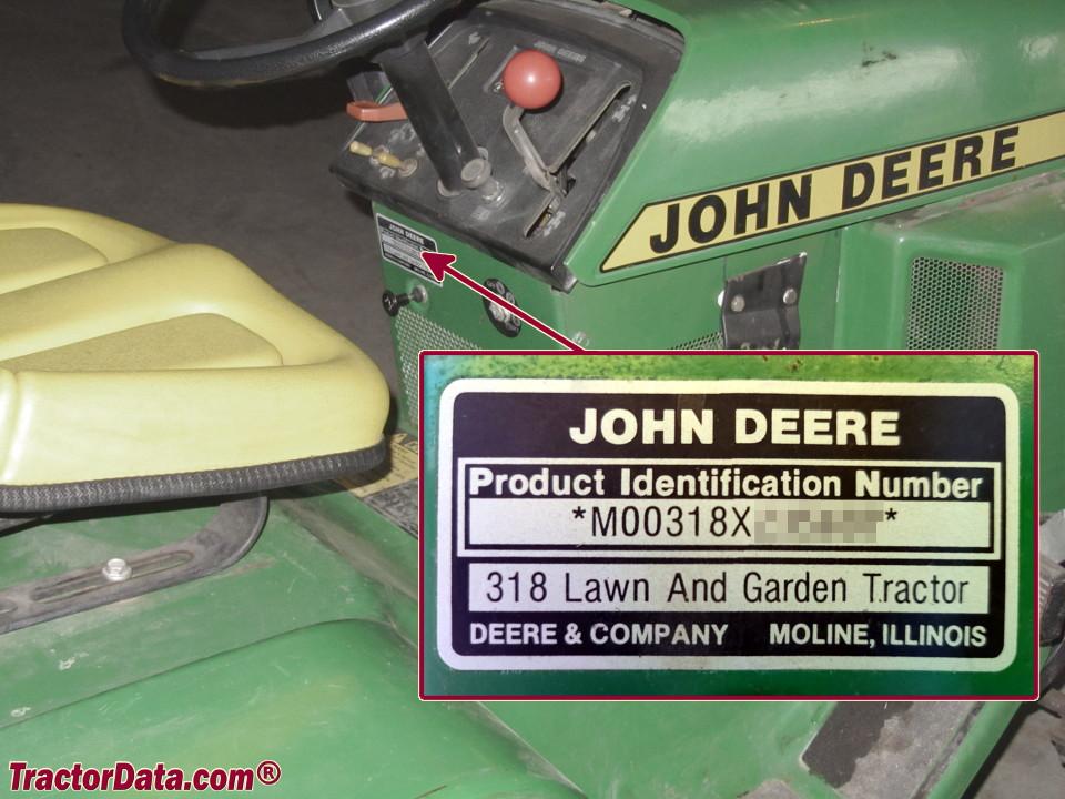 john deere serial number year made