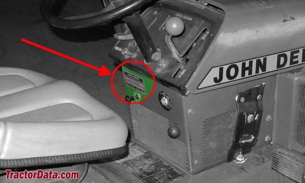TractorData.com John Deere 318 tractor information