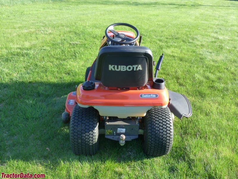 Kubota Lawn Tractor >> TractorData.com Kubota T1670 tractor photos information