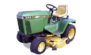 John Deere 322 lawn tractor photo