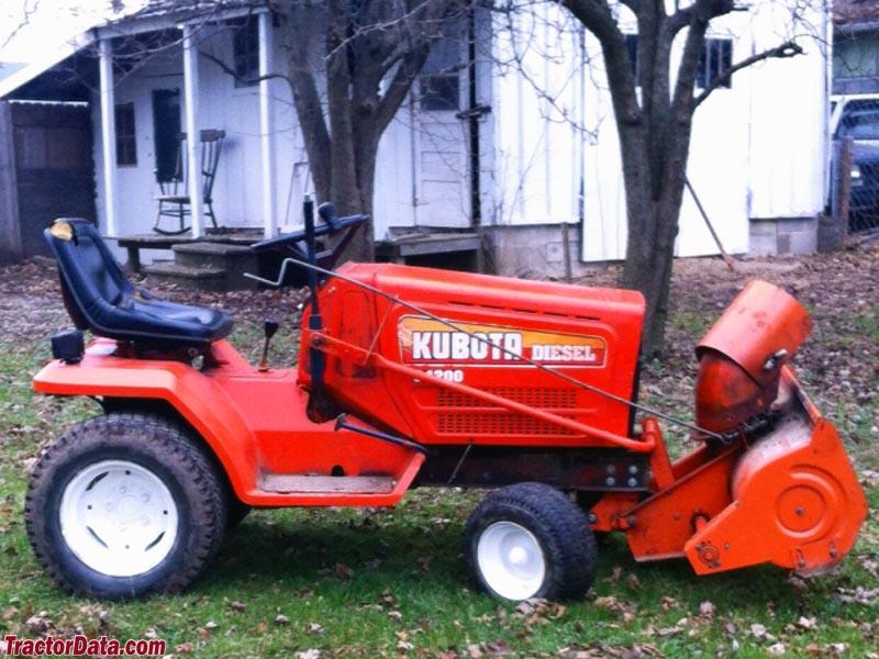Tractordata Com Kubota G4200 Tractor Photos Information