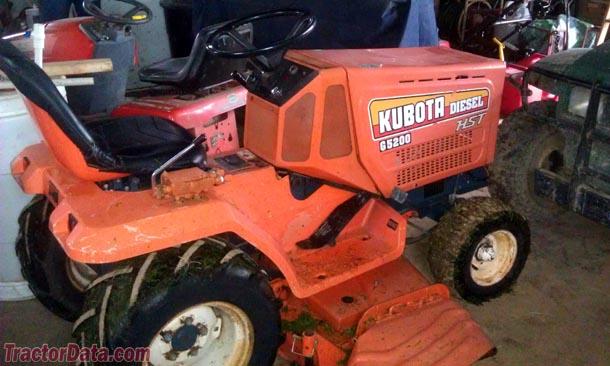 Tractordata Com Kubota G5200 Tractor Photos Information