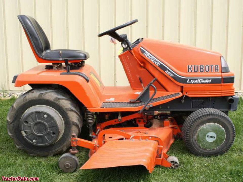 Kubota Lawn Tractor >> Tractordata Com Kubota G2000 Tractor Photos Information