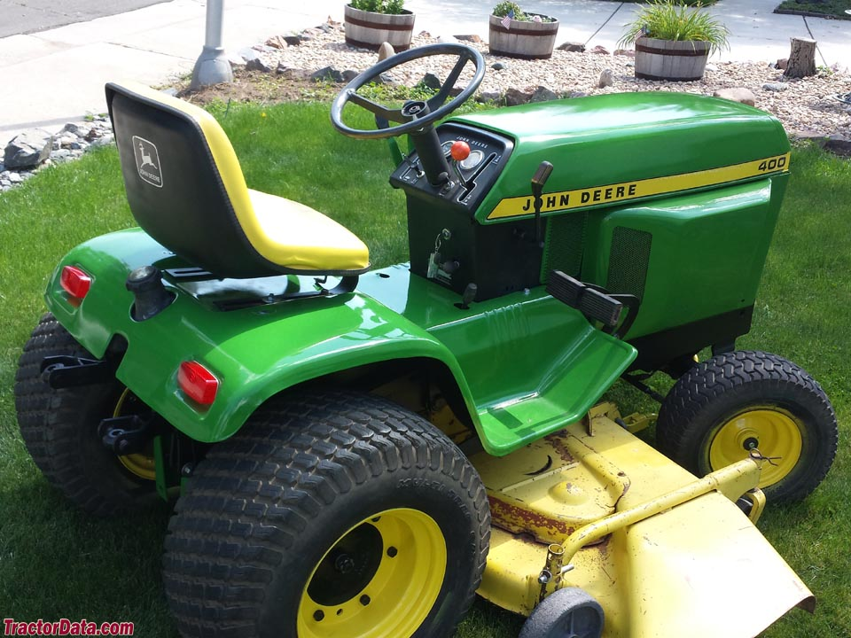 John Deere 400 Garden Tractor Attachments : John deere garden tractor backhoe attachment car