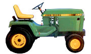 John Deere 420 lawn tractor photo