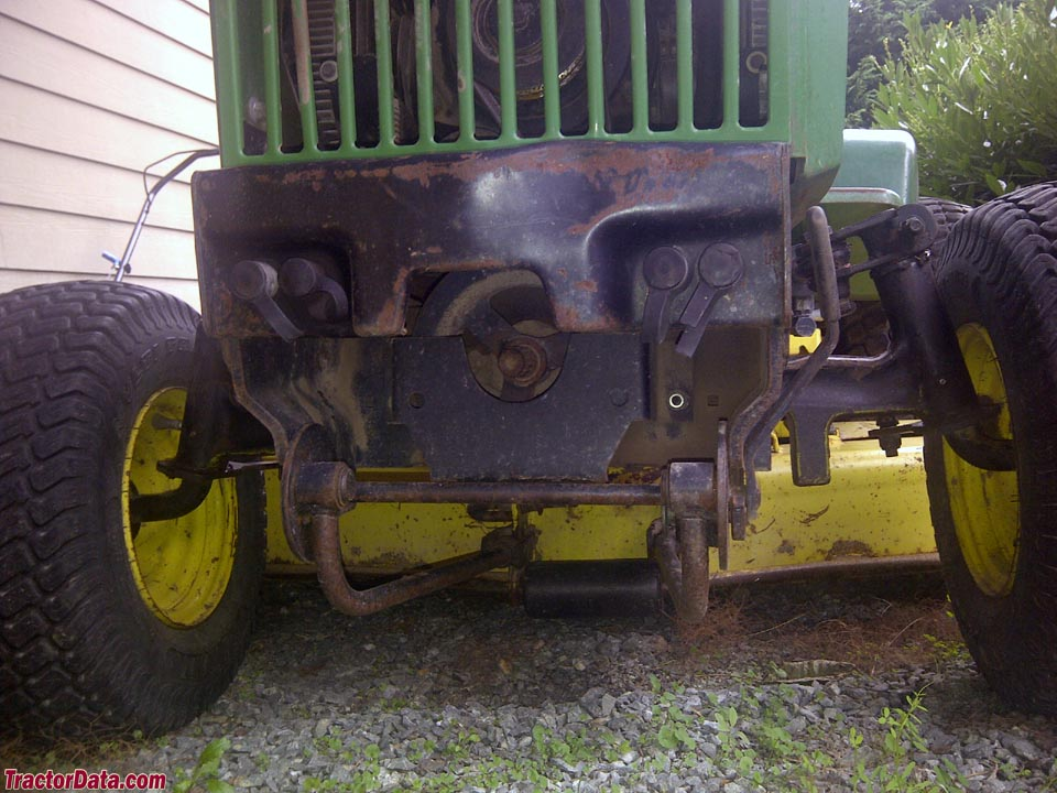 Lawn Tractor With Rear Pto : Tractordata john deere tractor photos information