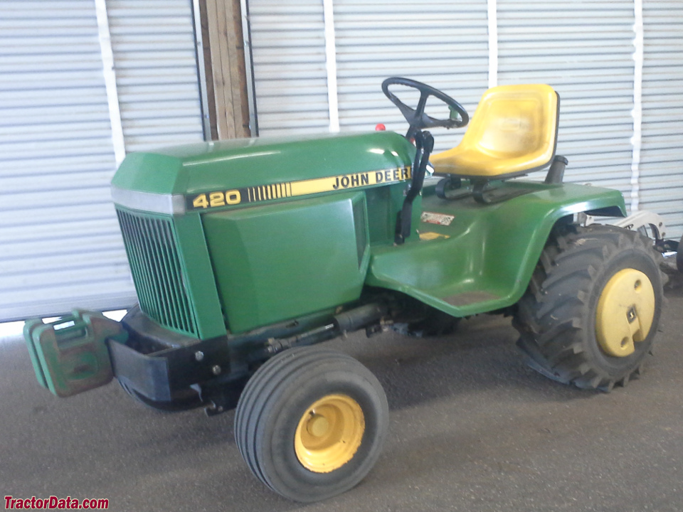 John Deere 420 Tractor Photos Information