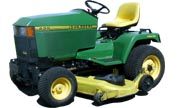 John Deere 425 lawn tractor photo