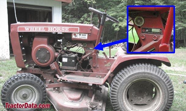 TractorData com Wheel Horse B-80 tractor information