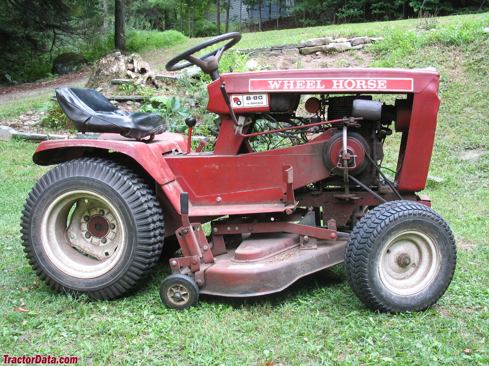 Wheel Horse Tractors : Tractordata wheel horse b tractor photos information
