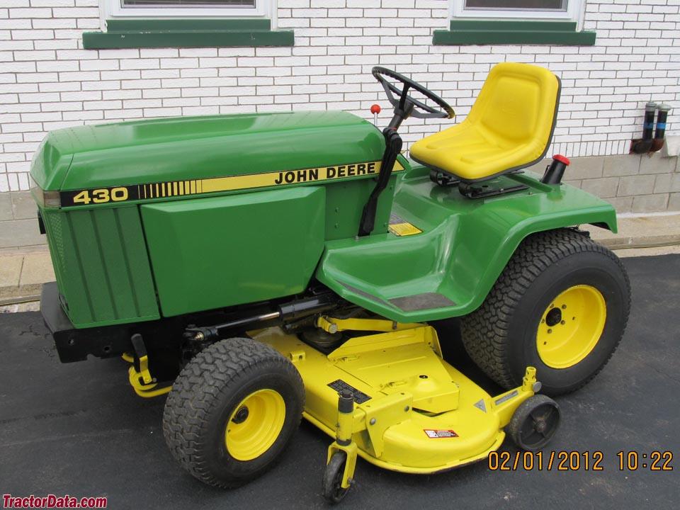 John Deere 430 Garden Tractor Garden Ftempo