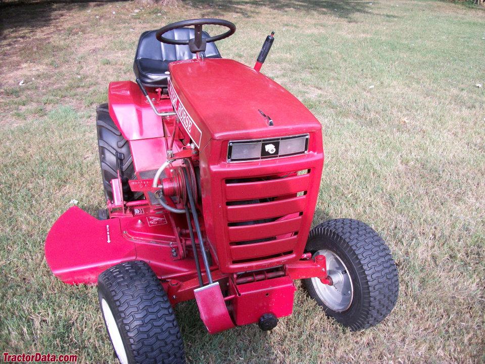 Wheel Horse Tractor Attachments : Tractordata wheel horse b tractor photos information