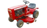 Wheel Horse B-112 lawn tractor photo
