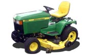 John Deere 445 lawn tractor photo