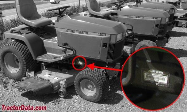 Tractordata John Deere 445 Tractor Information. John Deere 445. John Deere. John Deere 455 Garden Tractor Transmission Diagram At Scoala.co