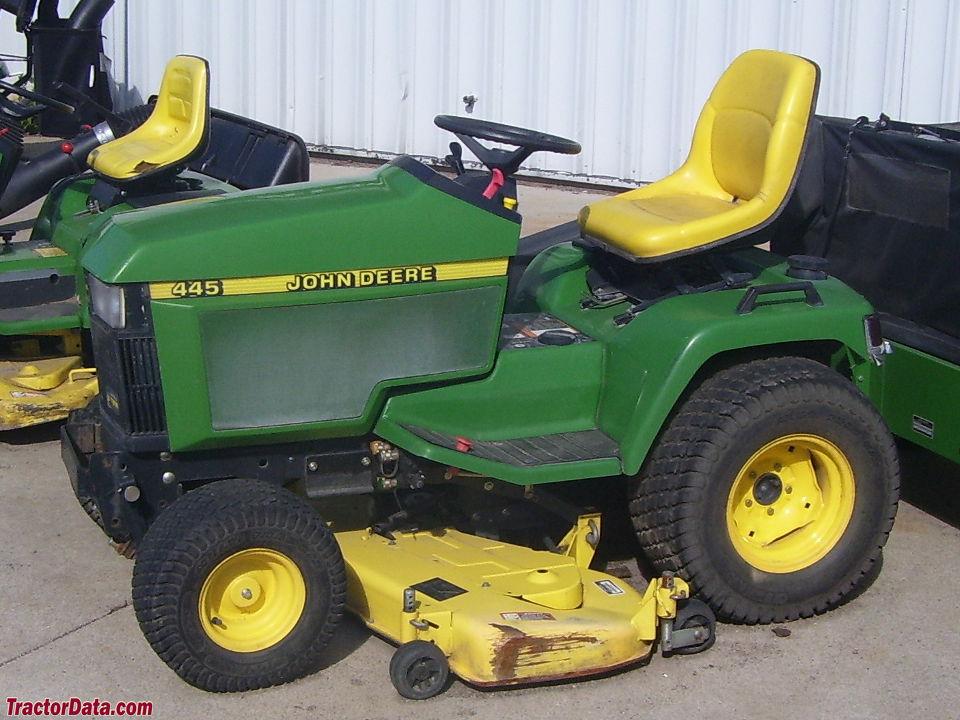 John Deere Mower Replacement Parts For 445 : Tractordata john deere tractor photos information
