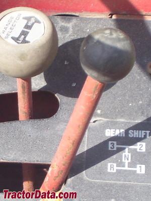 Wheel Horse C-161 transmission controls