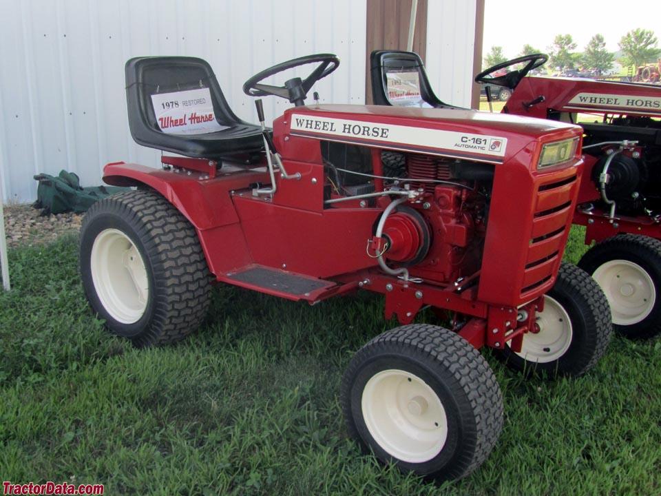 TractorData com Wheel Horse C-161 tractor photos information