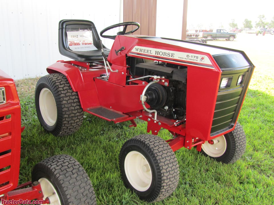 Tractordata Com Wheel Horse C 175 Tractor Photos Information